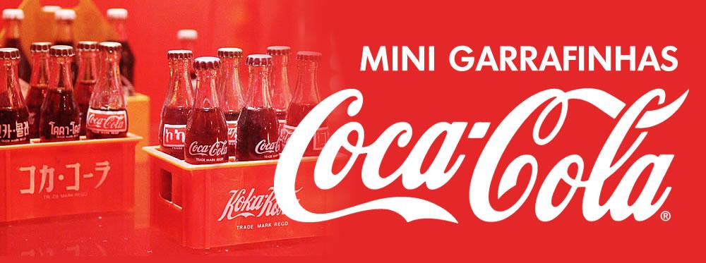 Coca-Cola mini garrafinhas