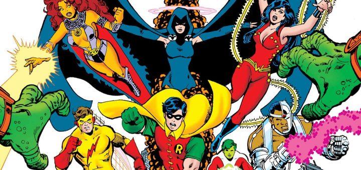 Os Novos Titãs em quadrinhos
