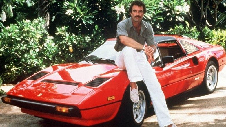 Série Magnum Ferrari Tom Selleck