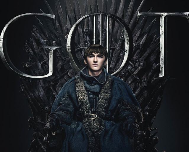 Bran Stark, The King of the Six Kingdoms - Game of Thrones