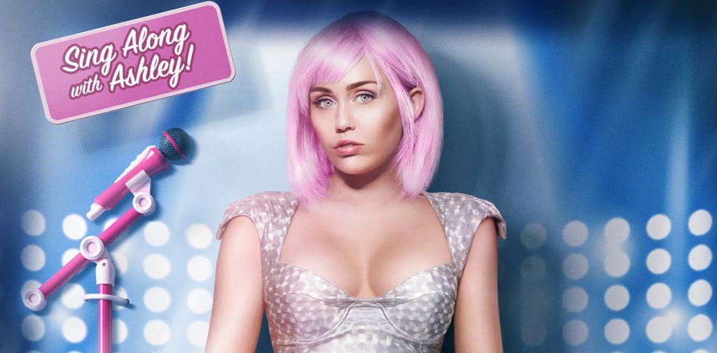 Ashley O (Miley Cyrus) em Black Mirror da Netflix