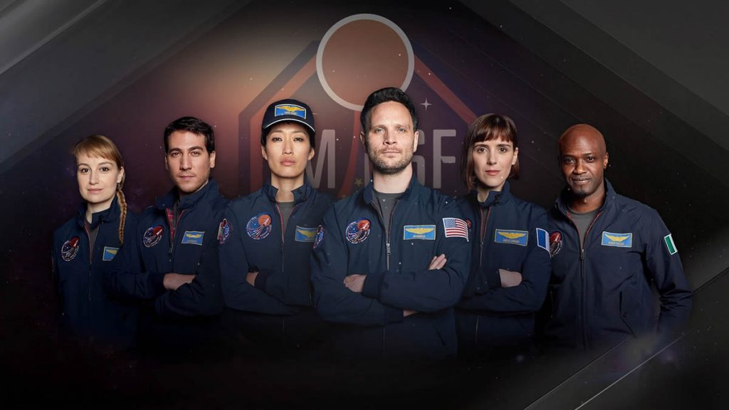 Personagens da série Marte