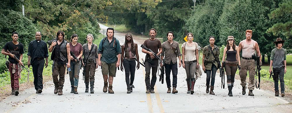 Personagens da série The Walking Dead