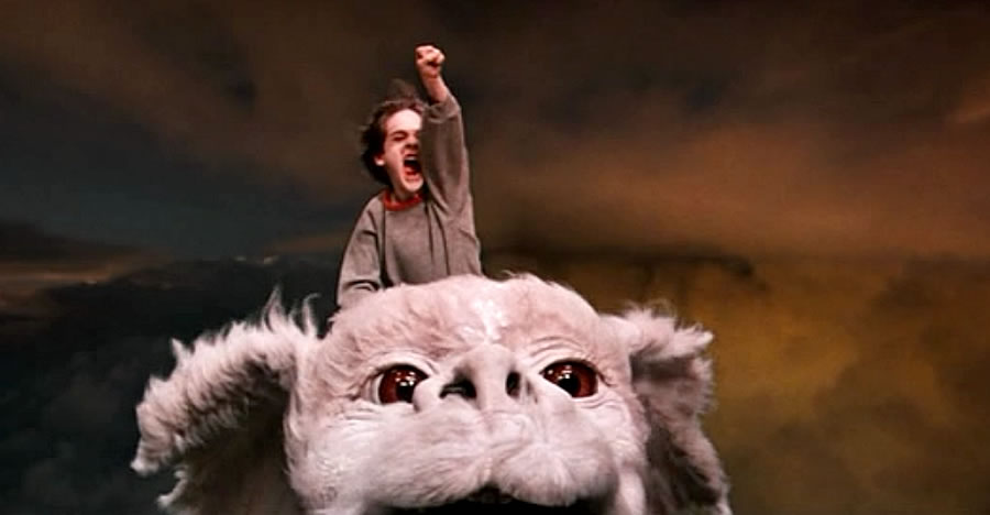 Cena do filme The NeverEnding Story - A História Sem Fim