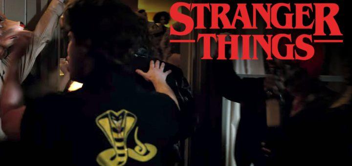 Cobra Kai - Karatê Kid em Stranger Things