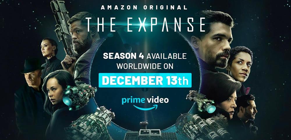 Data de lançamento da quarta temporada de The Expanse