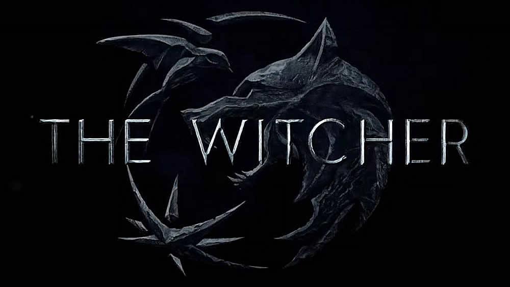 Logo da série The Witcher na Netflix