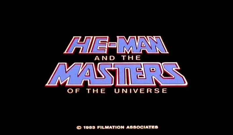 Logo de abertura do desenho animado He-Man
