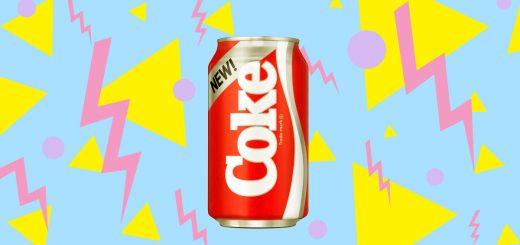 Nova Coca-Cola, New Coke Anos 80