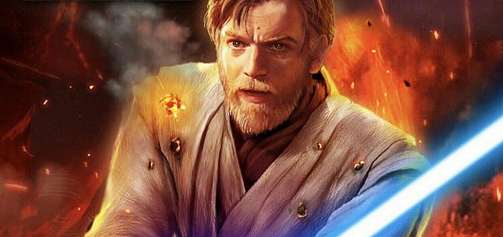 Obi-Wan Kenobi (Ewan McGregor) na saga de Star Wars