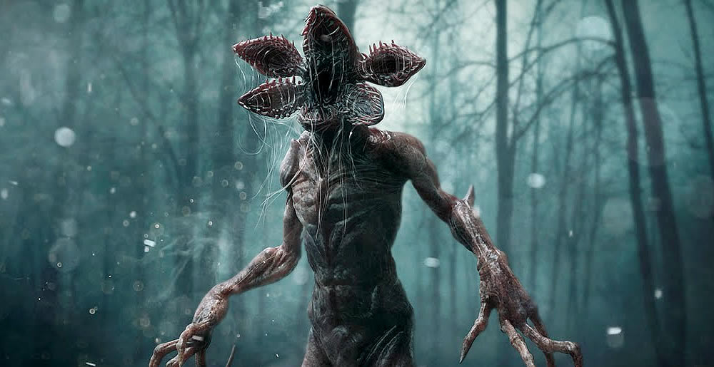 Demogorgon em Stranger Things
