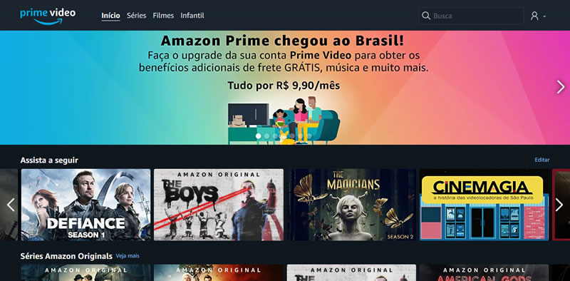 Amazon Prime no Brasil