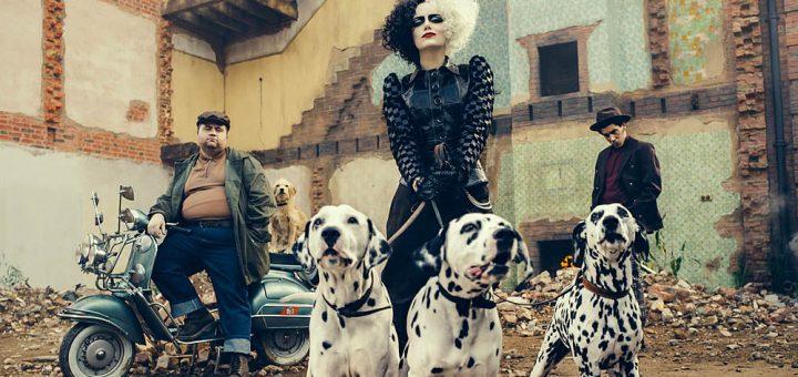 Emma Stone como Cruella, novo filme da Disney
