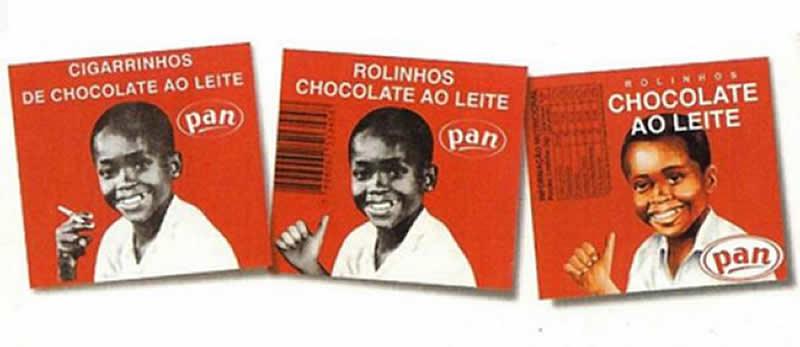 Mudanças na embalagem do cigarrinho de chocolate - rolinho de chocolate