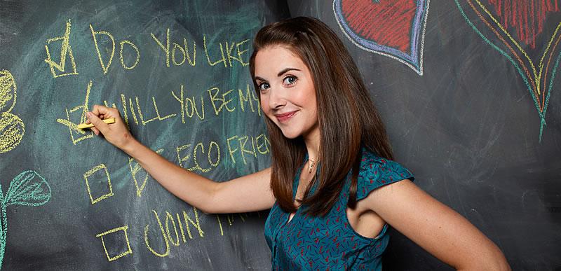 Annie Edison, personagem de Alsion Brie em Community