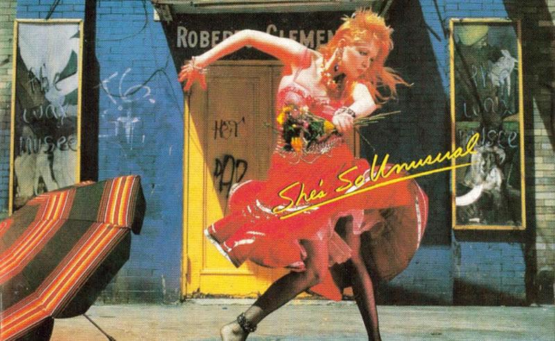 Álbum de Cindy Lauper - década de 80