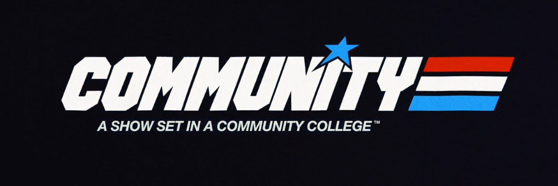 Série Community GI Joe logo