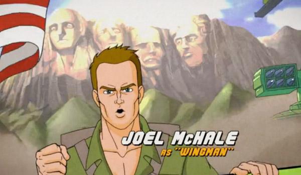 GI Joe Joel McHale