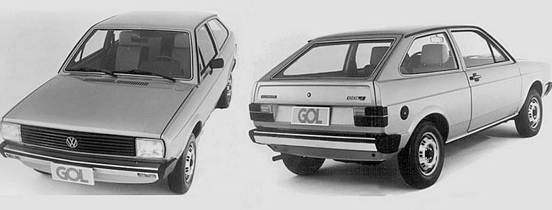 Gol 1980, da Volkswagen