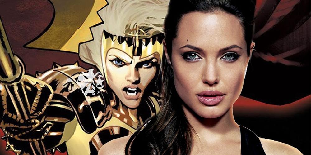 Os Eternos da Marvel, com Angelina Jolie