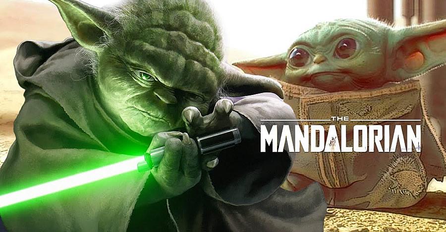 Bebê Yoda em The Mandalorian