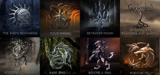 Episódios da primeira temporada de The Witcher