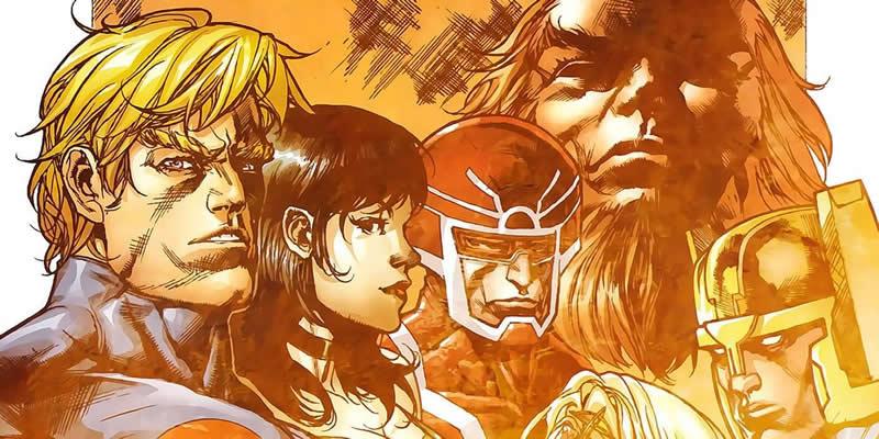 Os Eternos da Marvel nos quadrinhos