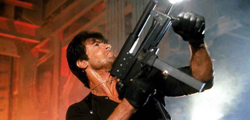 Filme dos anos 80: Cobra, com Sylvester Stallone