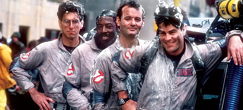 Elenco de Ghostbusters, Os Caça-Fantasmas de 1984