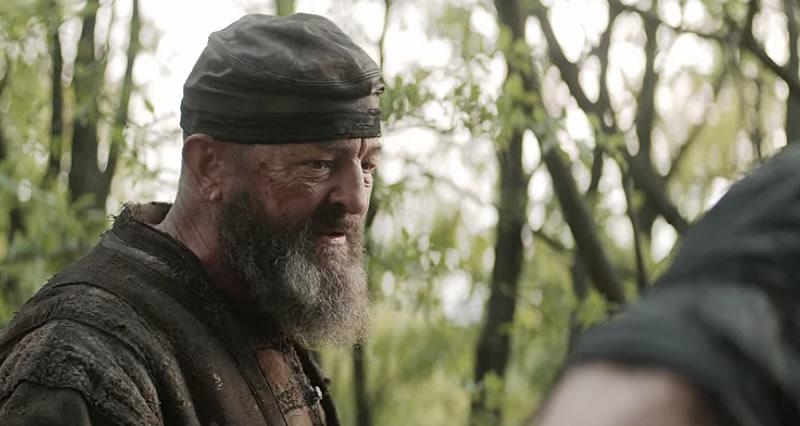 Personagem Yurga na série The Witcher, da Netflix