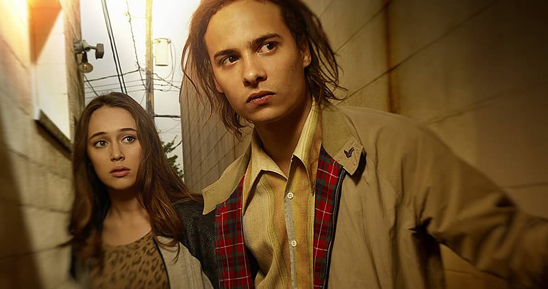 Alicia e Nick, personagens da série Fear The Walking Dead