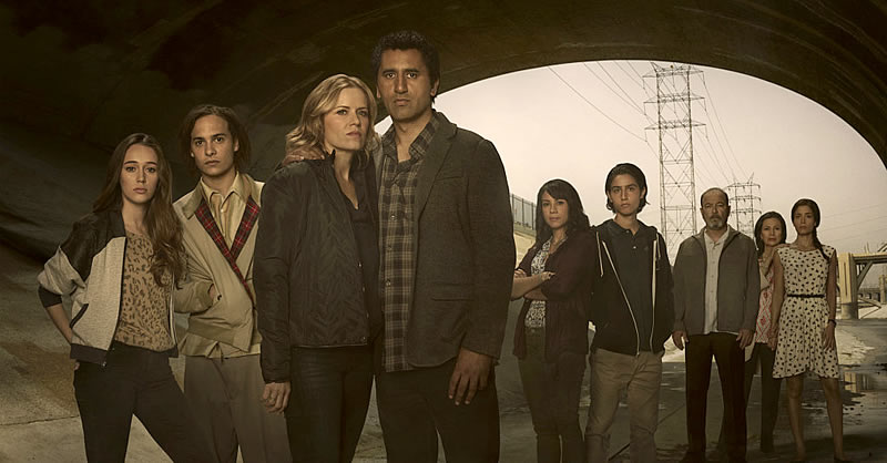 Personagens da série Fear The Walking Dead